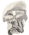 This drawing was created late 1990 early 1991